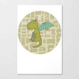 baby dragon liam Canvas Print