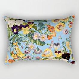 Summer Garden IV Rectangular Pillow