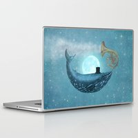 cloud Laptop & iPad Skins featuring Cloud Maker  by Terry Fan