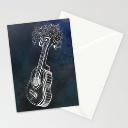 Music is Our Vacation Stationery Cards