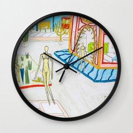 At the corner Wall Clock