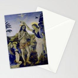 The Adornment of Christ - With work by Leonardo Da Vinci Stationery Cards