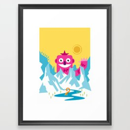 Big Pink! Framed Art Print