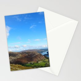 Mountainous Area in the Lake District, England Stationery Cards