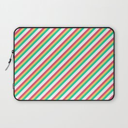 Candy Inclined Stripes Laptop Sleeve