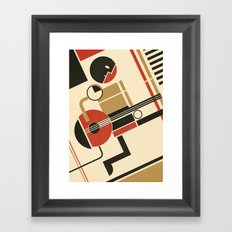 Bauhausmusic - Part III Framed Art Print