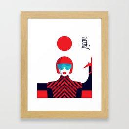 Stylish Journey - Japan Framed Art Print