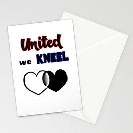 United We Kneel Stationery Cards