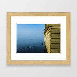 Winter Morn - The Boatshed Framed Art Print