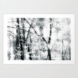 tree breeze Art Print