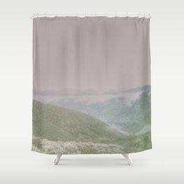 Chromatic Canyon Shower Curtain