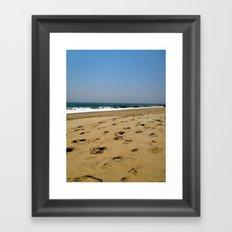 A Jersey Shore Framed Art Print