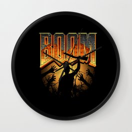 This is my Boomstick Wall Clock