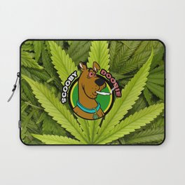 Scooby Doobie 420 Parody Laptop Sleeve