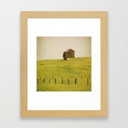 Summer Pastures Framed Art Print