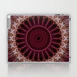 Ruby Mandala Laptop & iPad Skin