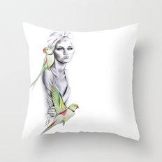 Paradise no.1 Throw Pillow
