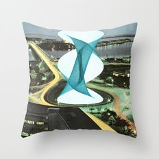 Brave Architecture Throw Pillow