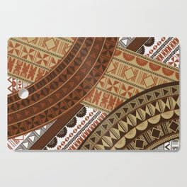 UrbanNesian Fijian Masi Cutting Board