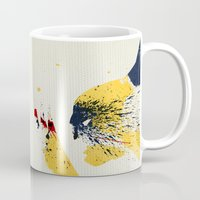animal crew Mugs featuring Animal by Arian Noveir