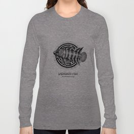 Microctenopoma ansorgii Long Sleeve T-shirt
