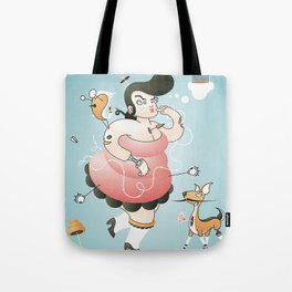 Pin-up Girl Tote Bag