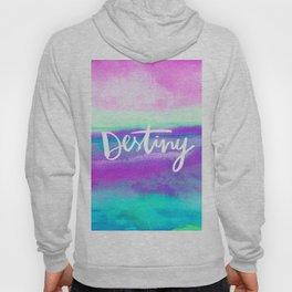 Destiny - Collaboration by Jacqueline Maldonado and Galaxy Eyes Hoody