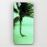 palm iPhone & iPod Skins featuring Palm by Julia Aufschnaiter