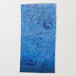 Le Grand Bleu Beach Towel