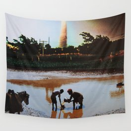 Stormy Weather Wall Tapestry
