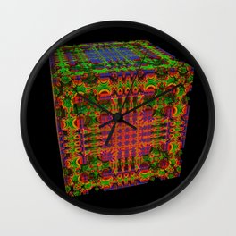 Tech Cubicles | 3D Fractal Wall Clock