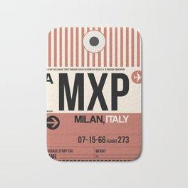 MXP Milan Luggage Tag 1 Bath Mat