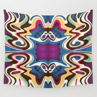 trip Wall Tapestries featuring Trip by Cs025