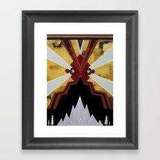 Gulp Framed Art Print