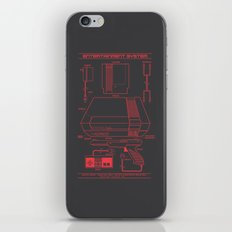 Entertainment System (dark) iPhone & iPod Skin