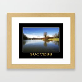 Inspirational Success Framed Art Print