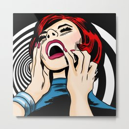 Screaming Sixties Metal Print