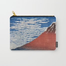 Katsushika Hokusai Mountain Volcano Fine Wind, Clear Morning Carry-All Pouch