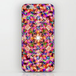 Colorful Digital Abstract iPhone Skin