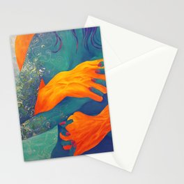 Gripping Embrace Stationery Cards