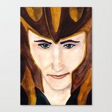Loki Laufeyson Canvas Print