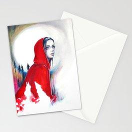 What big eyes you have - ink illustration Stationery Cards