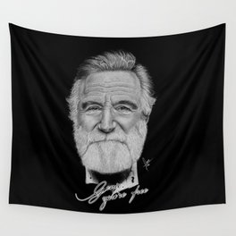 Robin Williams Wall Tapestry