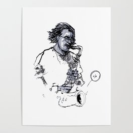 russ gershon of the either orchestra Poster