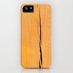 Crack in Wood iPhone (5, 5s) Slim Case