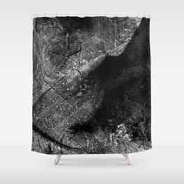 Alien Ultrasound Shower Curtain
