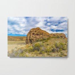 Patagonian Landscape, Argentina Metal Print