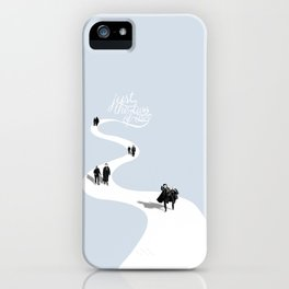 Just the Two of Us iPhone Case
