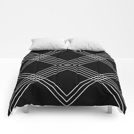 Black Square Comforters