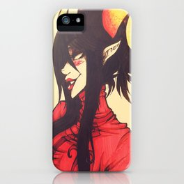 Witch of Time iPhone Case